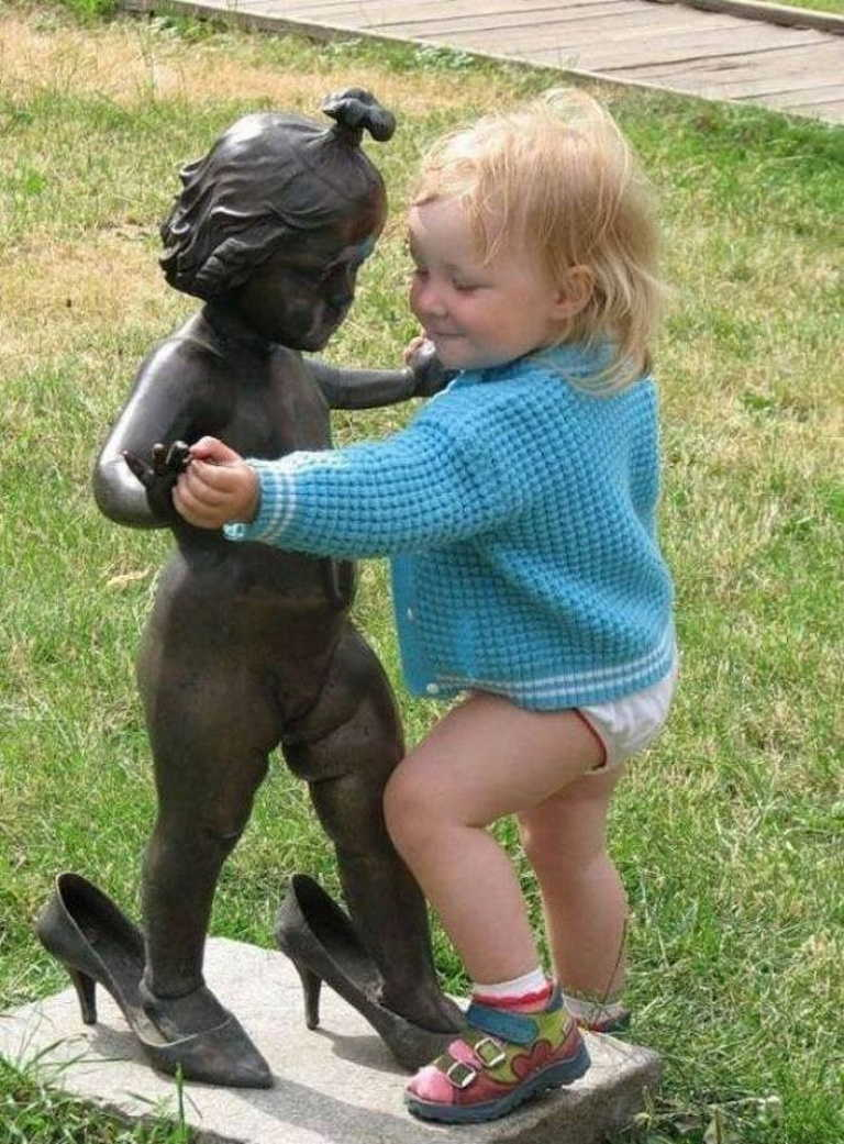 Юмористические фото о детях