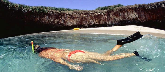 Скрытый пляж островов Мариетас