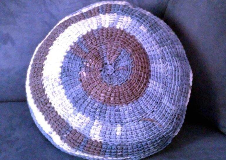 вязание круга