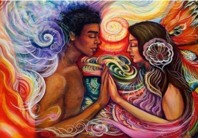 энергообмен между женщиной и мужчиной