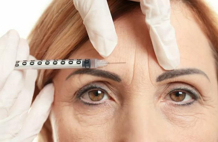 Как быстро убрать межбровные морщины у косметолога