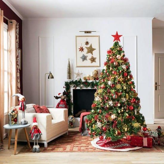 Как красиво нарядить елку в год Быка: особенности декора в 2021 году
