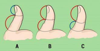 Как узнать, что за человек перед вами? Посмотрите на его большой палец!