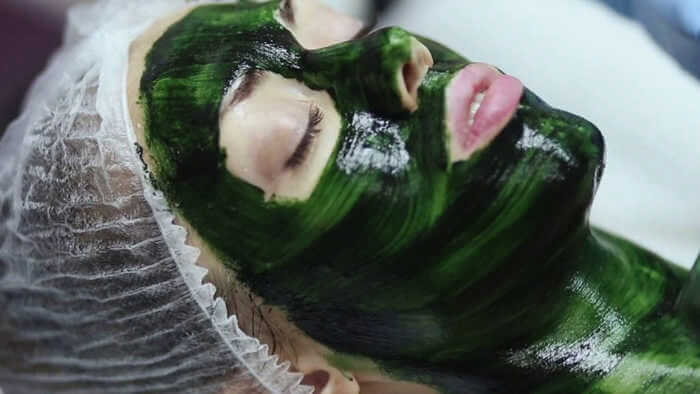 Молодильная коллагеновая маска для лица с морскими водорослями