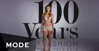 Как менялась мода на протяжении 100 лет?