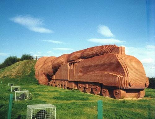 locomotive David Mach