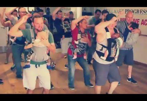 Папы танцуют с детьми - dady-baby party - Секреты вдохновения