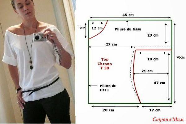 95ddde558f8 Блузку сшить. Создаем свой стиль  как сшить блузку своими руками без ...