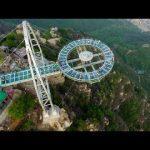 Стеклянная смотровая площадка на высоте 400 метров открылась в Китае - Секреты вдохновения