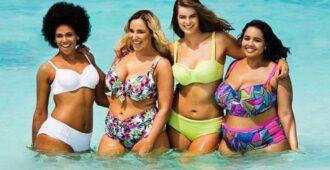 Модные купальники 2019 для полных