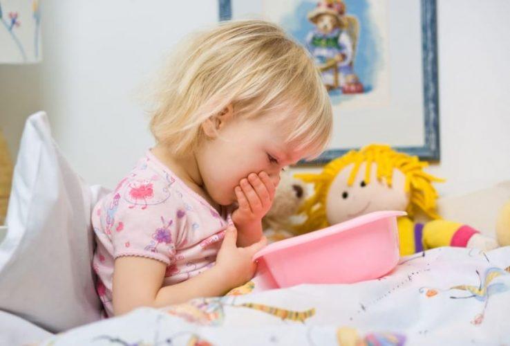 Симптомы увеличения селезенки у ребенка тошнота и рвота