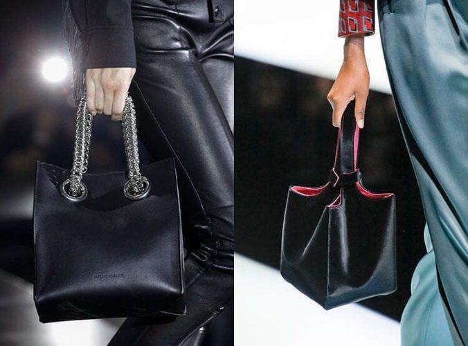 Стильные черные сумки 2018
