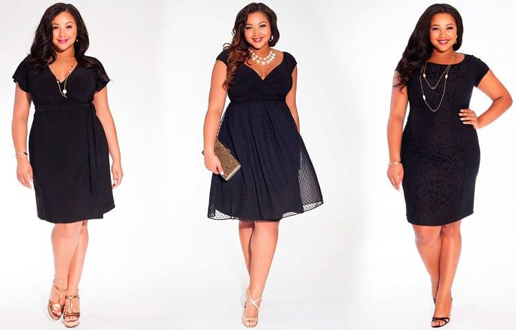 Черный цвет платьев