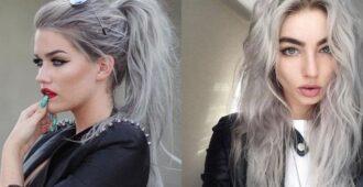 кому подойдет пепельный цвет волос