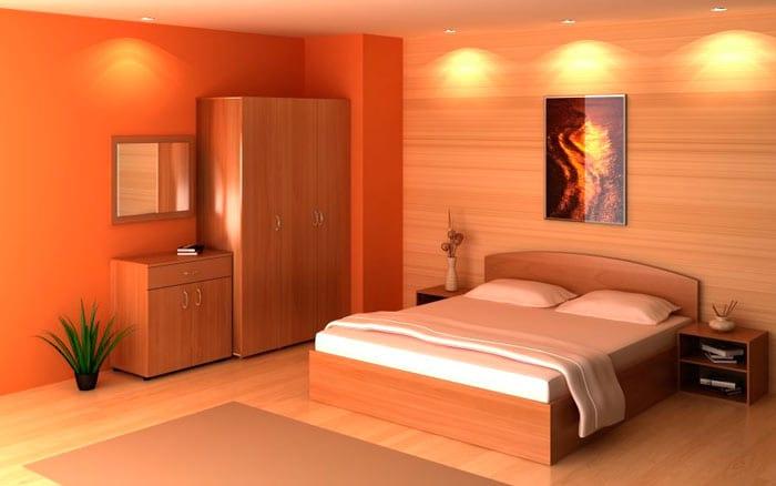 Мебель в спальной комнате по фен-шуй