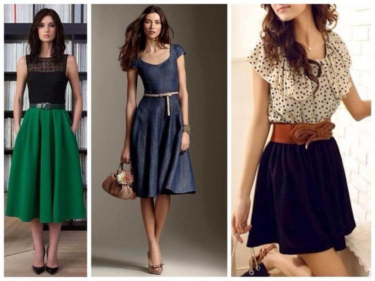 Выбор фасона платья по типу фигуры