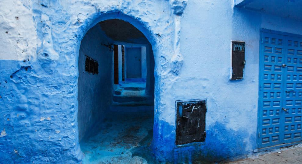 Марокко: несколько оттенков синей роскоши