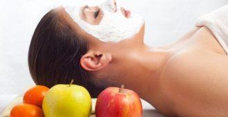 яблочно-творожная маска