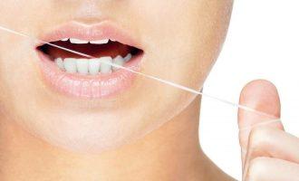 Зубная нить: правила использования