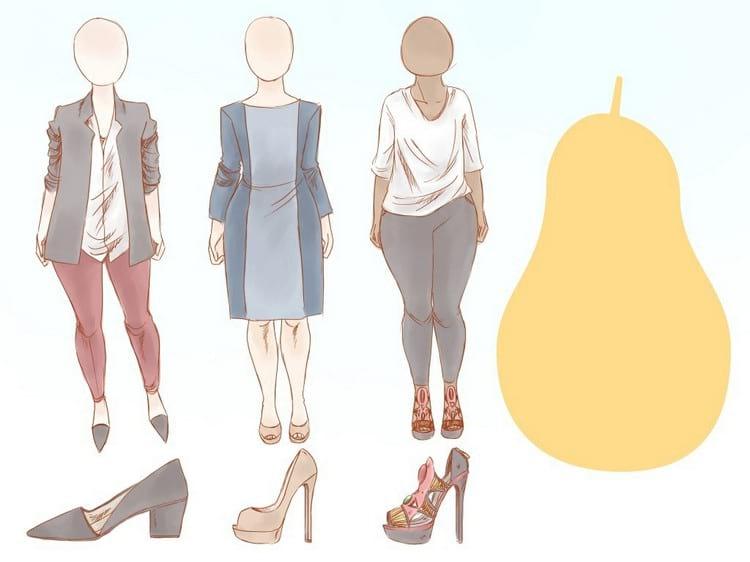 Как одеваться женщине с фигурой груша