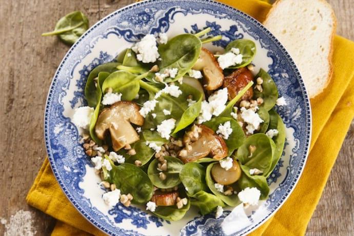 Рецепты салатов из пророщенной пшеницы для похудения