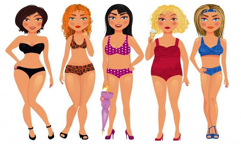 Как правильно определить тип фигуры у женщин: 5 основных типов