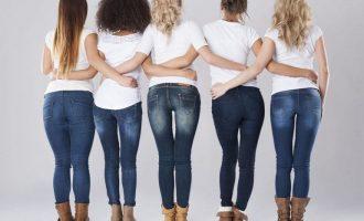 Как подобрать джинсы по фигуре женщине: основные правила