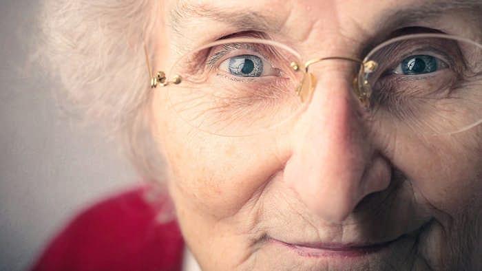бабушка по материнской линии