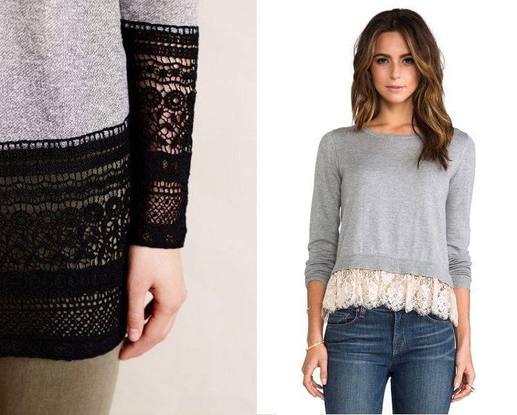 Будь стильным: несколько идей, как удлинить одежду