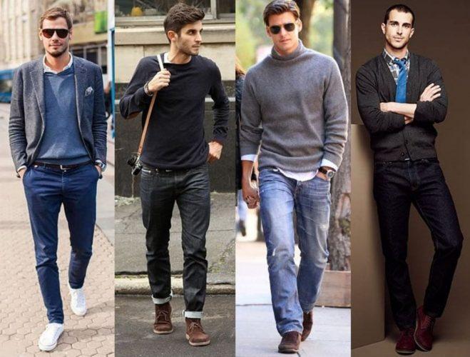 Модная деловая одежда для мужчин: фото