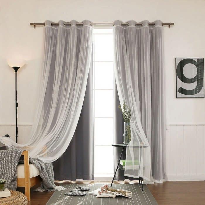 Советы дизайнеров, как выбрать шторы на окна в комнату