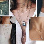 женские украшения на шею