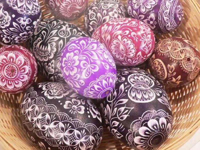 Так пасхальные яйца вы еще не красили!