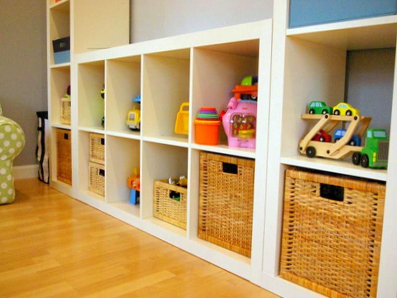 детская комната: наводим порядок