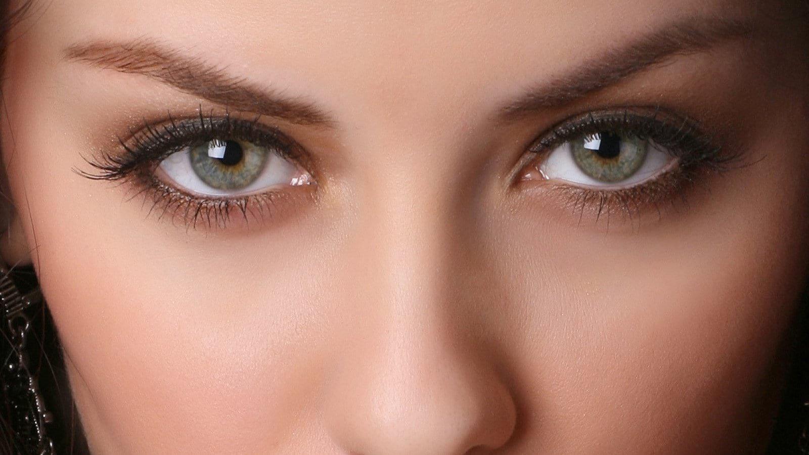 Картинки серо зеленых глаз