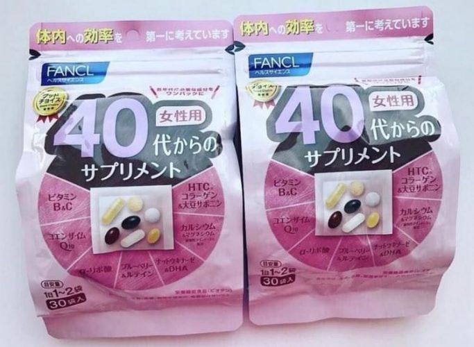 Японские витамины для женщин