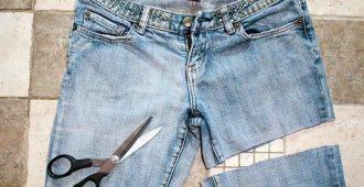 Как сделать шорты из джинсов: важные моменты и некоторые нюансы