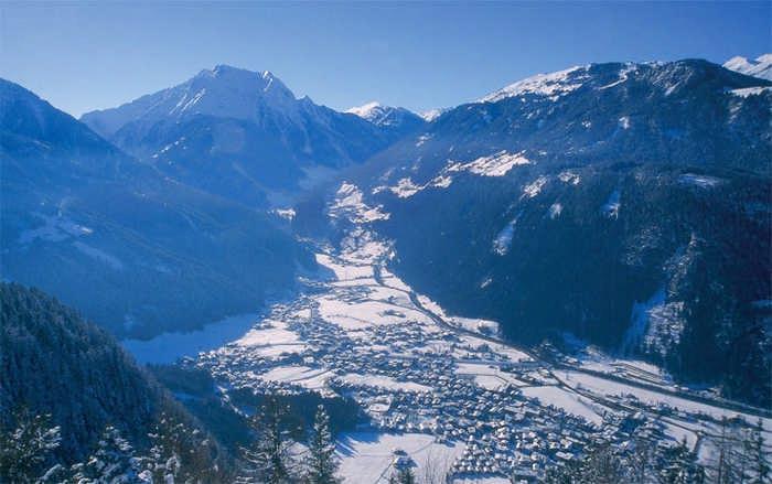 Популярные горнолыжные курорты Австрии для начинающих и профи