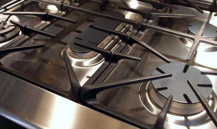 как отмыть решетку газовой плиты