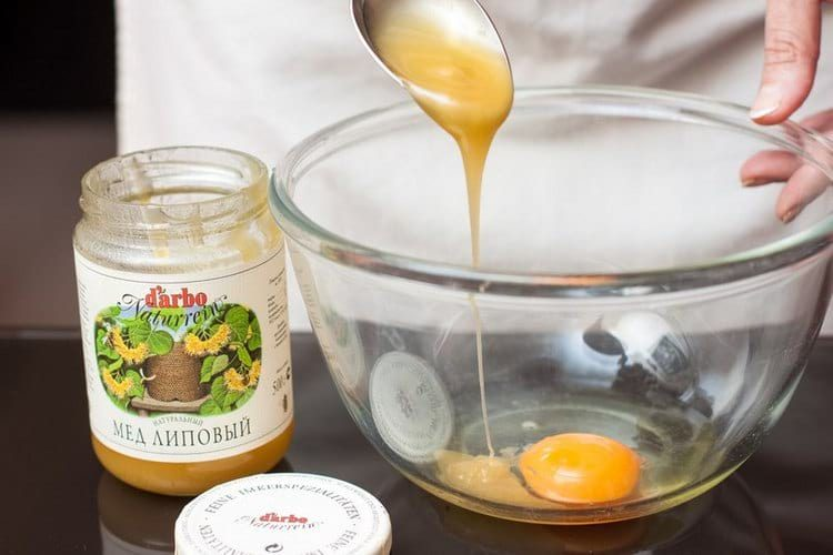 Яичный шампунь с медом