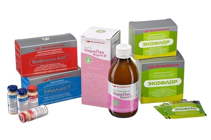 Пробиотики и пребиотики для правильной работы кишечника