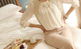 Как сшить блузку без выкройки своими руками