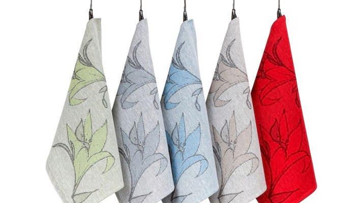 Как отстирать кухонные полотенца от застарелых пятен