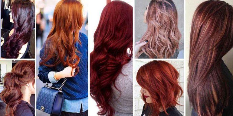 Цвет волос бургунди: какой он