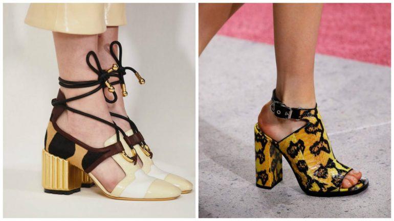 Модные тенденции весна-лето 2018: обувь