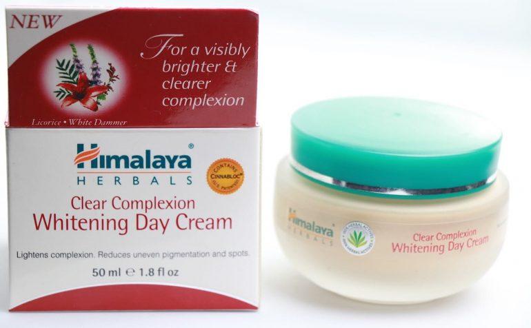 Himalaya herbals кремы для лица с отбеливающим эффектом