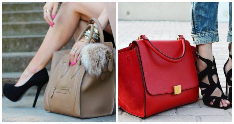 Сочетание сумки с одеждой и обувью
