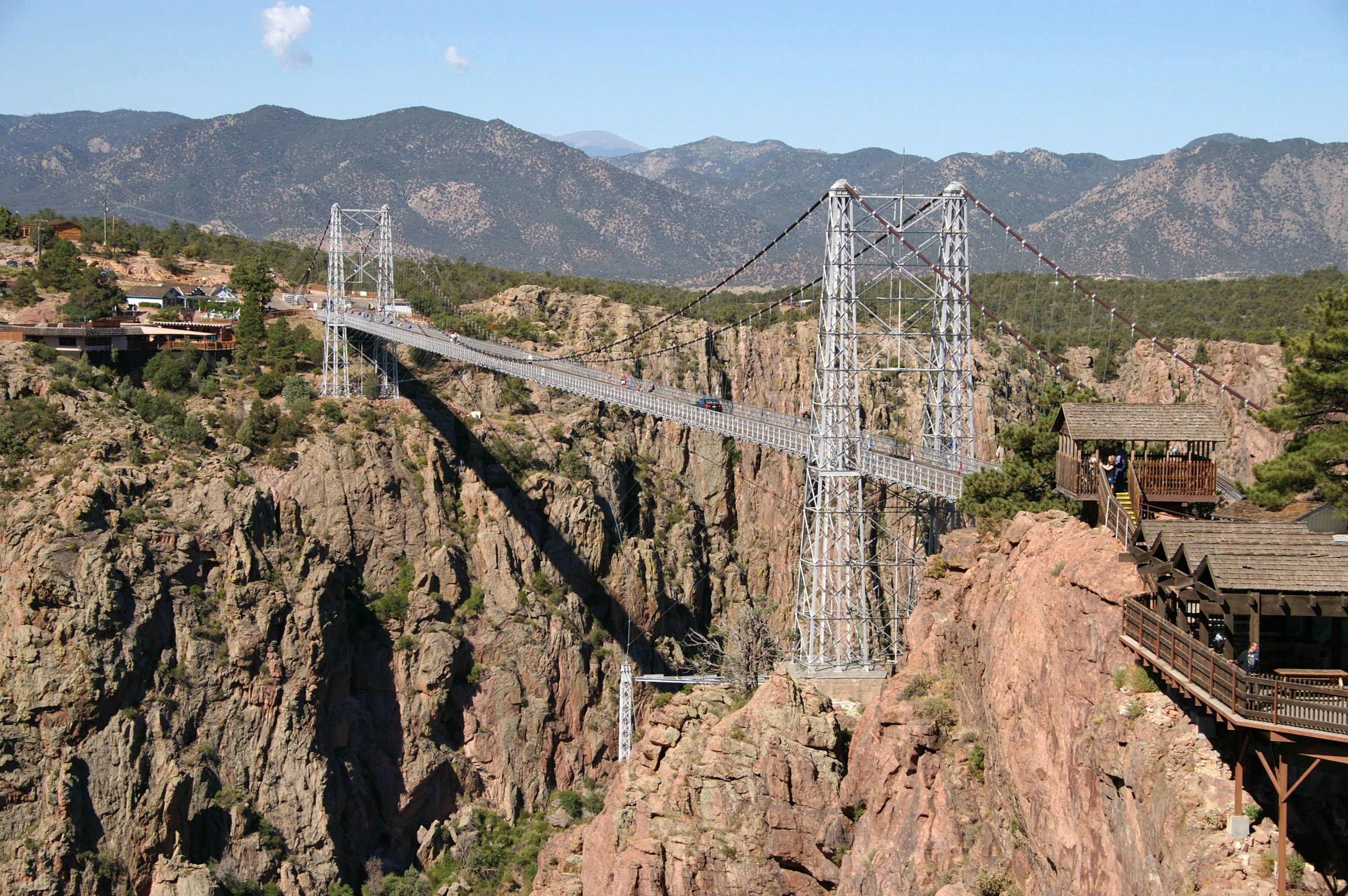 мост Ройял Джордж в Колорадо