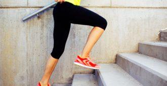 Ходьба по лестнице: польза и вред