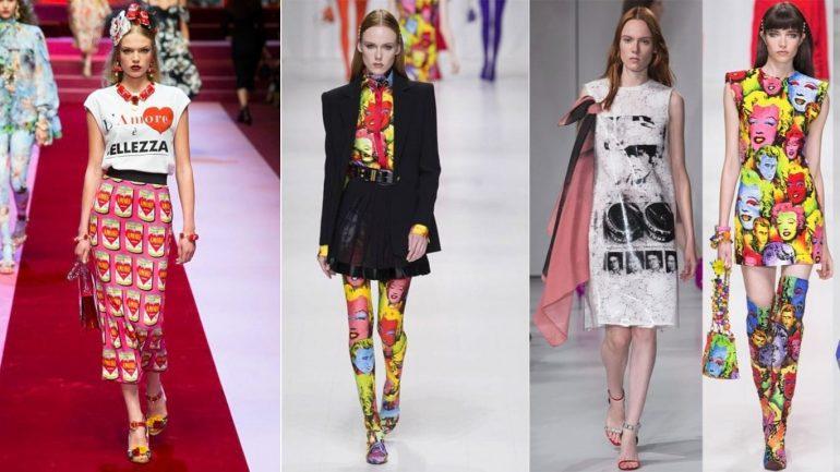 Яркая мода 2018 года